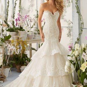 Mori Lee 2810 Wedding Gown